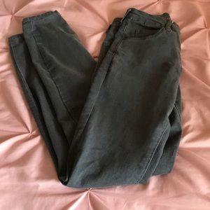 Versace 1969 abbigliamento sportivo Srl grey jeans